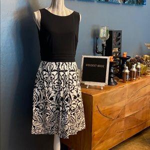 Lauren Ralph Lauren Black and white dress